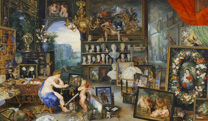 Breughal Allegory of Sight series